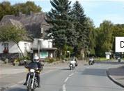 Mtorrijders dorp Wenholthausen in Sauerland